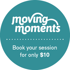 Moving Moments – Book your session for only $10