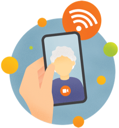 BYO Device and free Wi-Fi at  aged care services